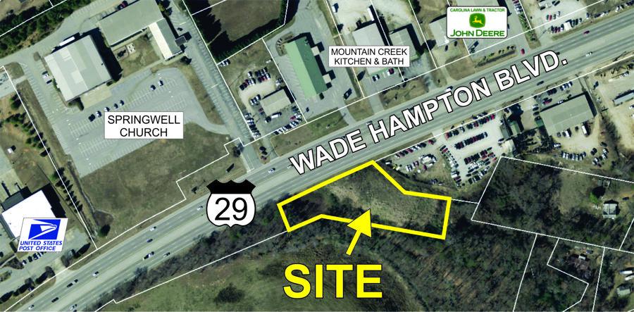 Wade Hampton Blvd property sold