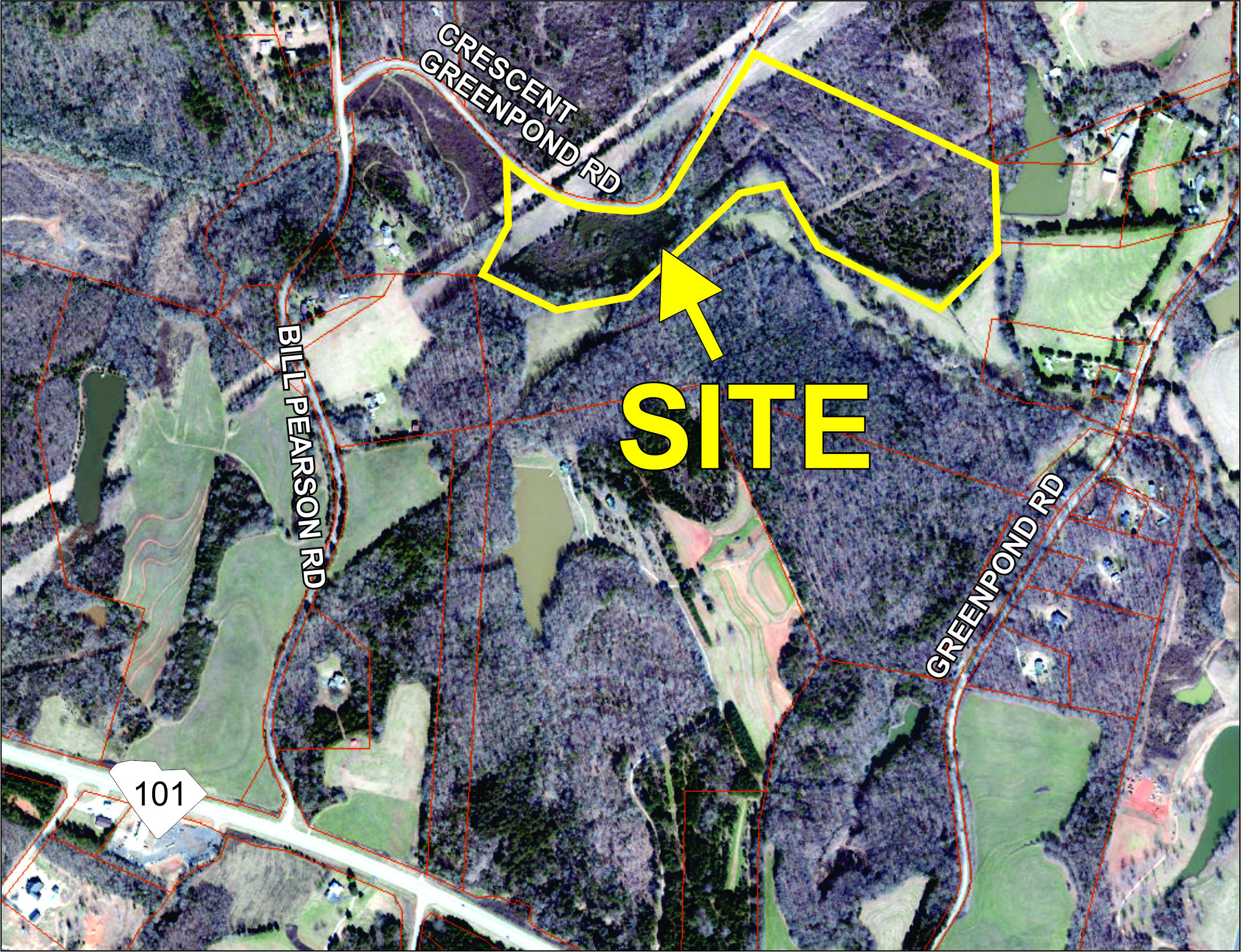 32 acre parcel in Woodruff sold