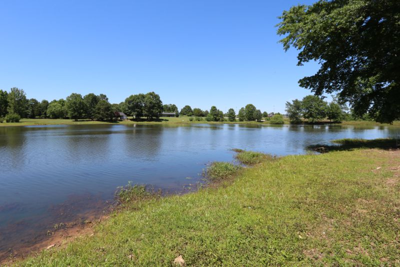 Property on beautiful pond sold