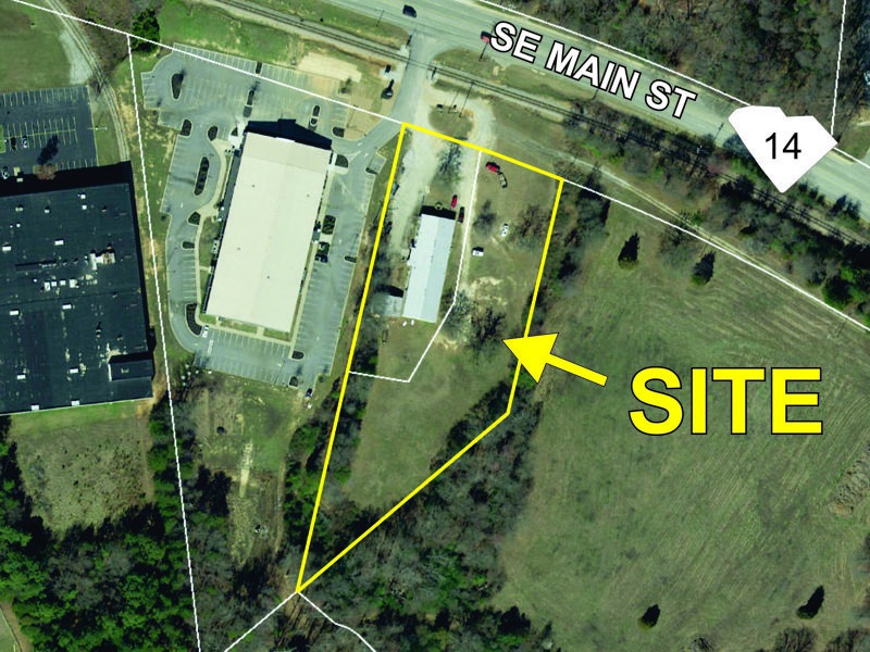 Property on SE Main Street in Simpsonville sold
