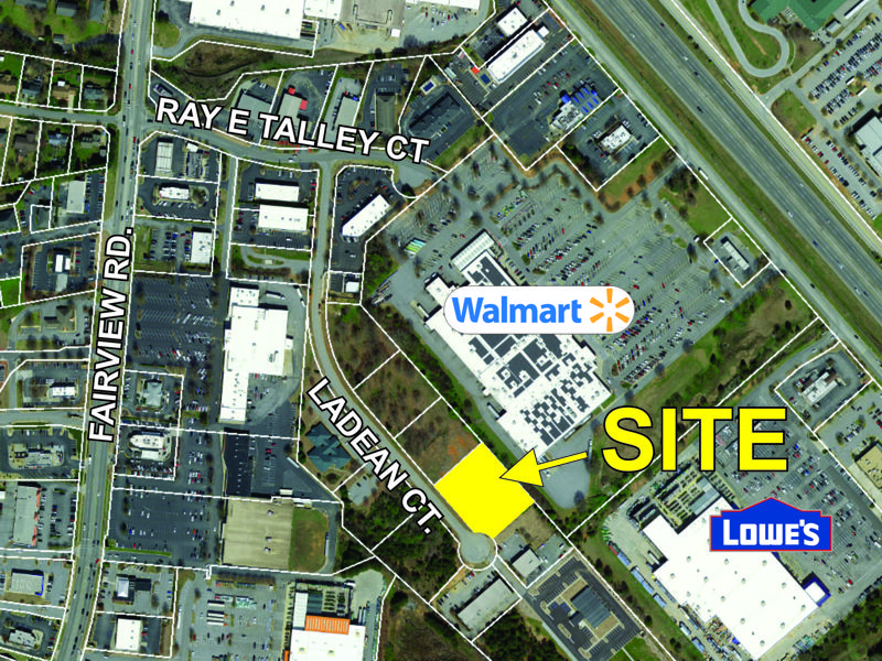 Commercial lot in Simpsonville sold
