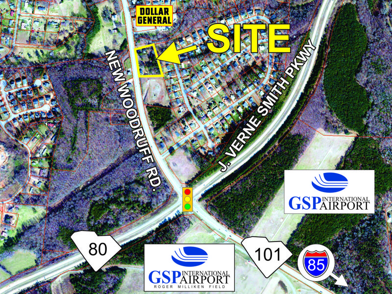 Property sold on New Woodruff Road