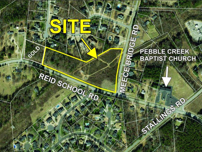 6.1+- acre parcel on Reid School Rd sold
