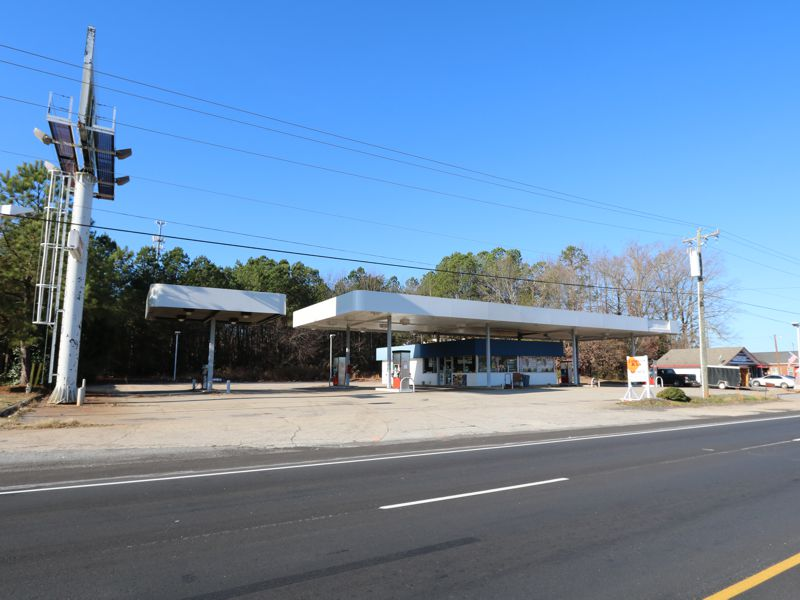 Gas station on Hwy 76 in Pendleton sold