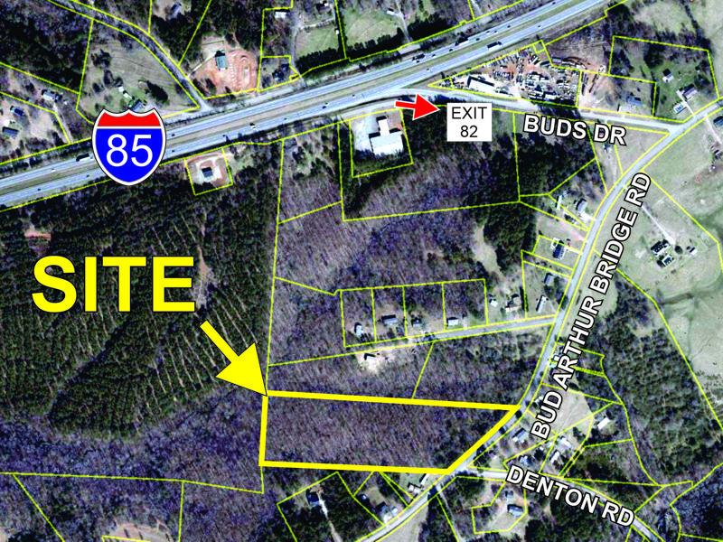 9 acres on Bud Arthur Bridge Rd in Cowpens sold