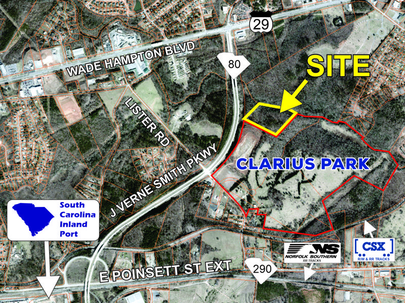 11.5 acre parcel on J Verne Smith Parkway sold