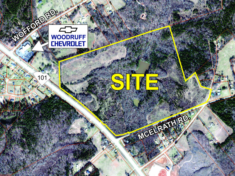 100 acre parcel sold on Hwy 101 in Woodruff