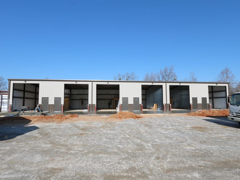 Great success in leasing flex space on Locust Hill Rd