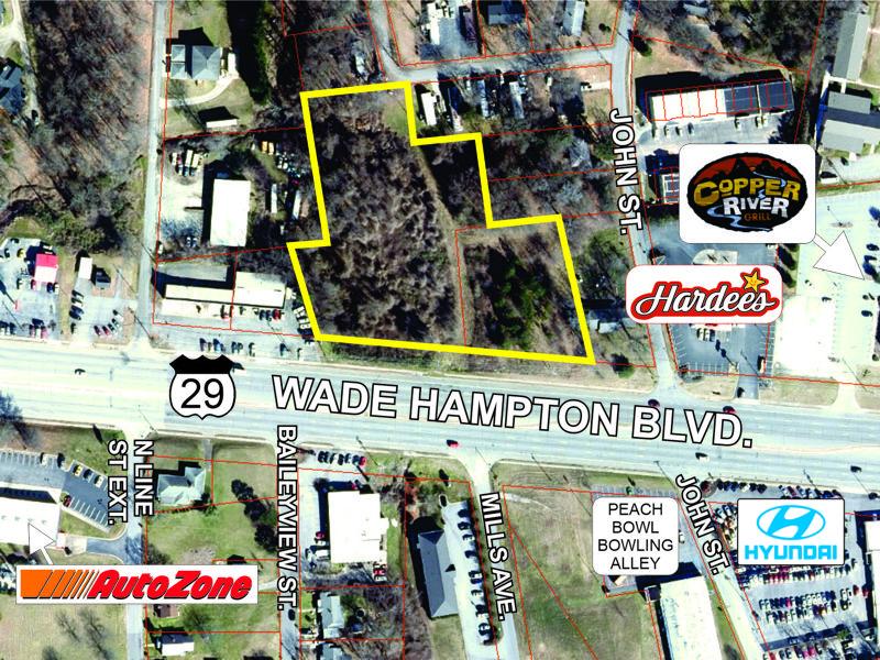 Property on East Wade Hampton Blvd sold
