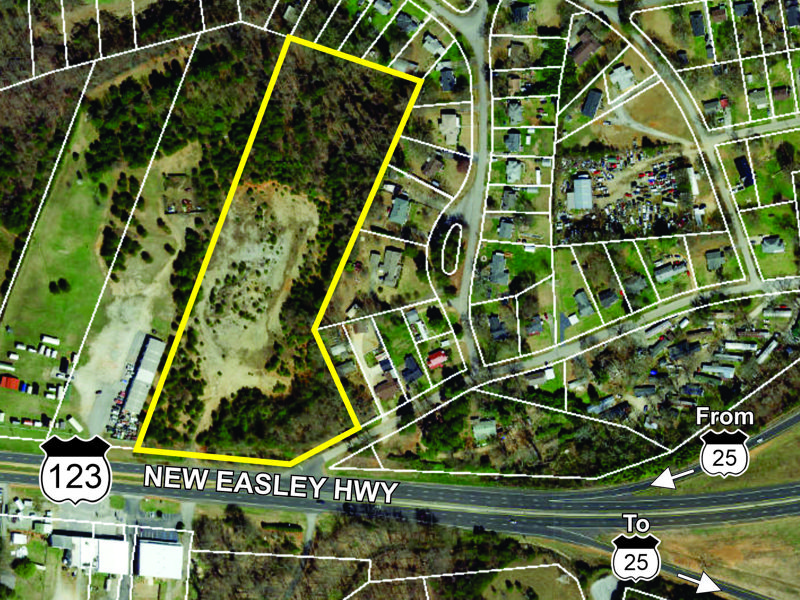 Property on New Easley Hwy sold