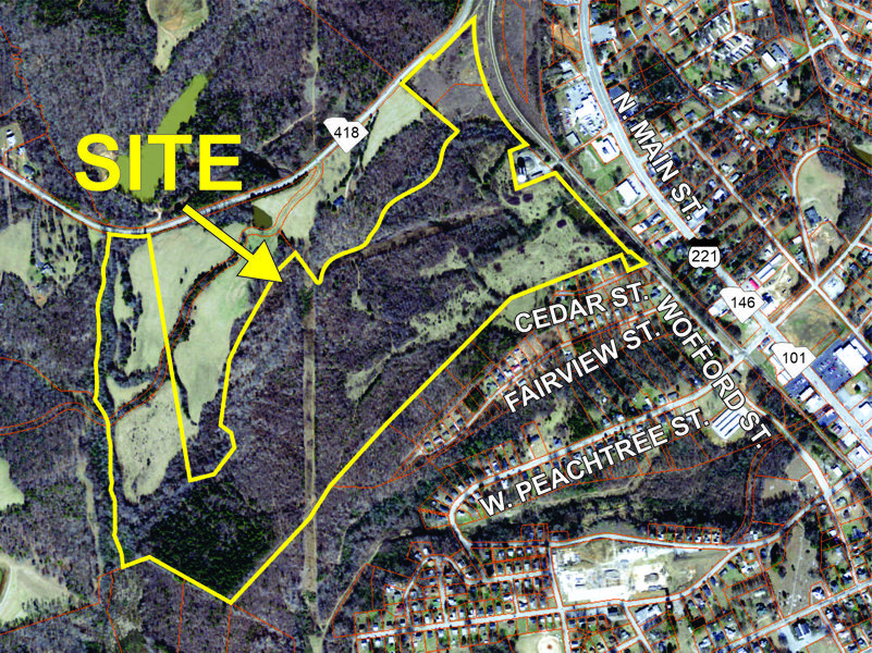 127 acre parcel in Woodruff sold